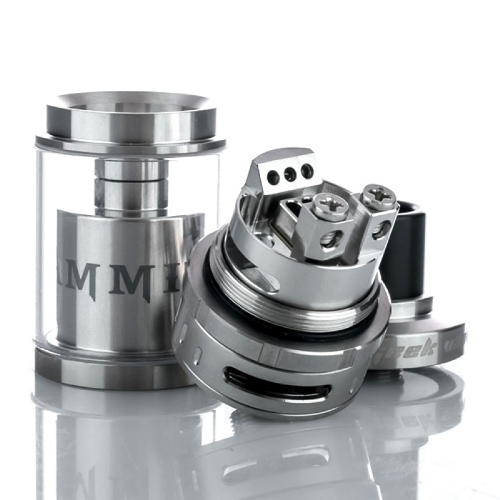 Geekvape Ammit stainless steel RBA deck