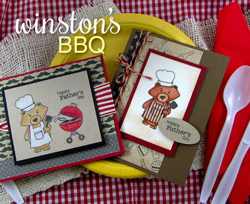 Winston's BBQ | Father's Day Cards | Newton's Nook Designs