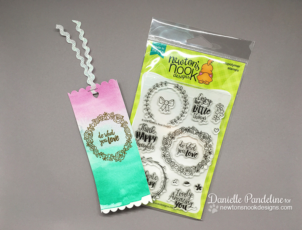 Happy Little Thoughts Stamp Set by Newton's Nook Designs