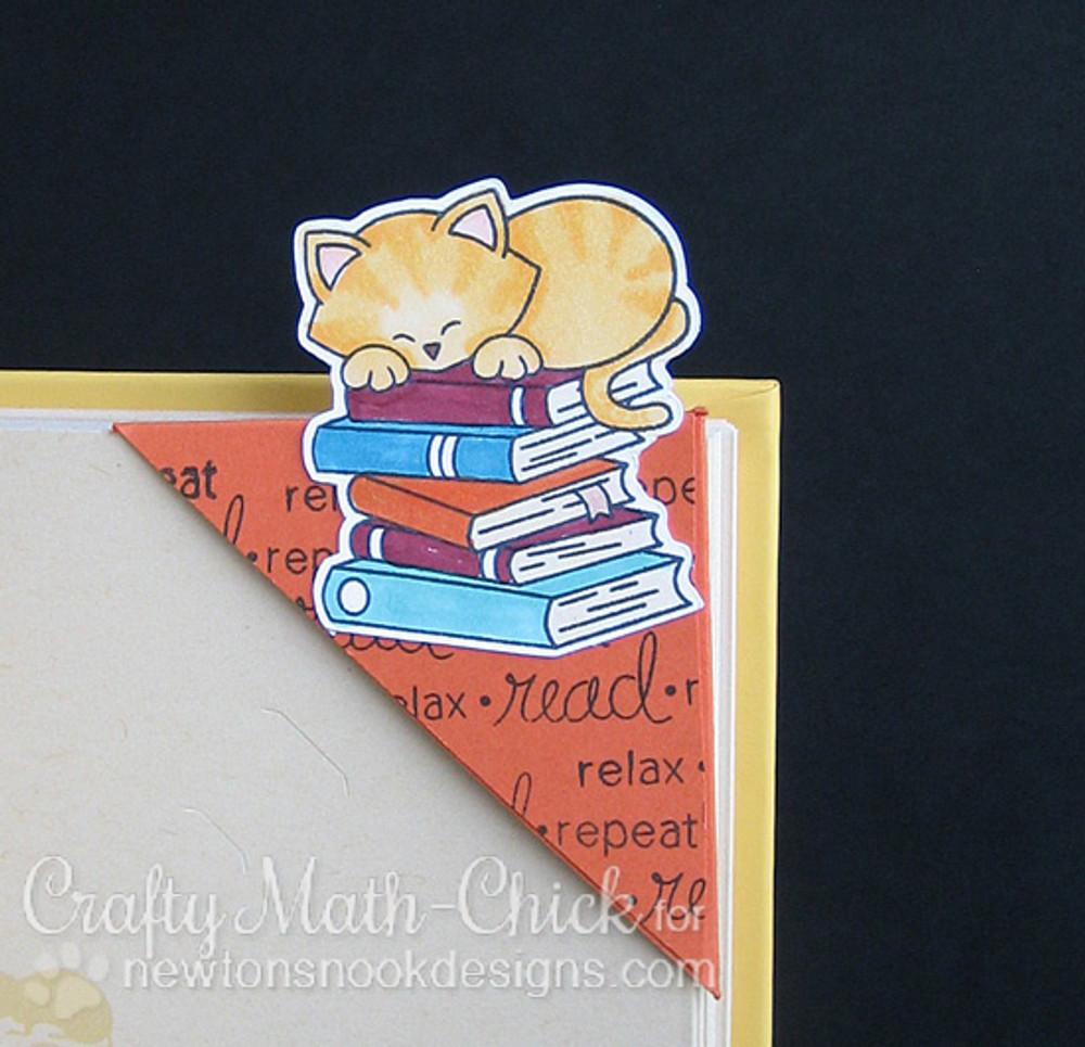 Newton's Book Club Stamp Set by Newton's Nook Designs