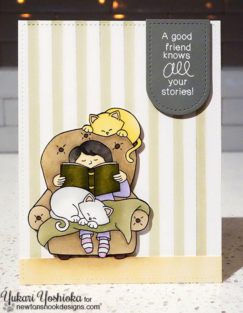 A Cozy Day In Stamp Set by Newton's Nook Designs