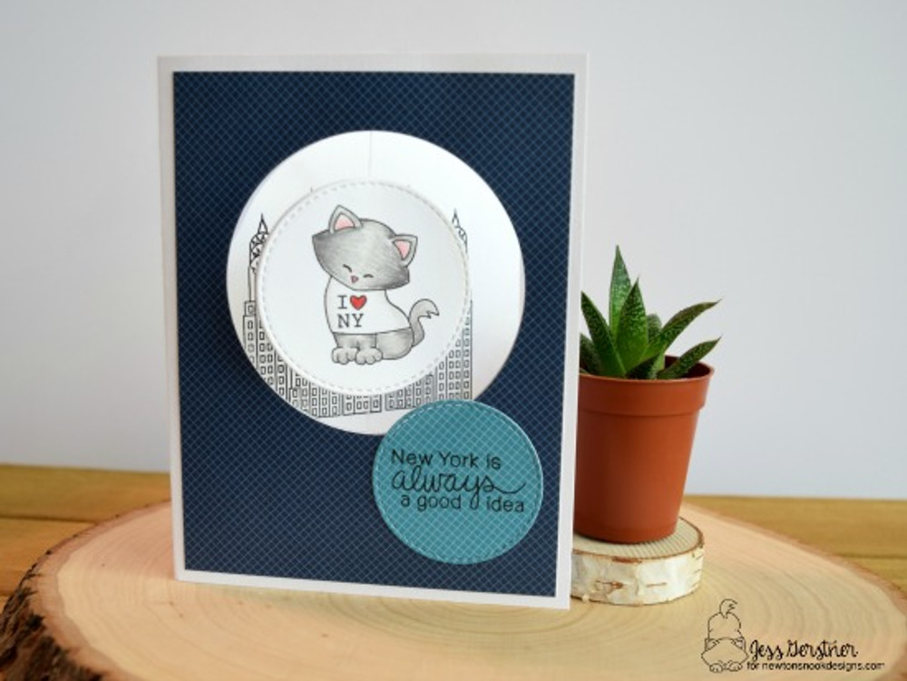 Newton Dreams of New York Stamp Set by Newton's Nook Designs