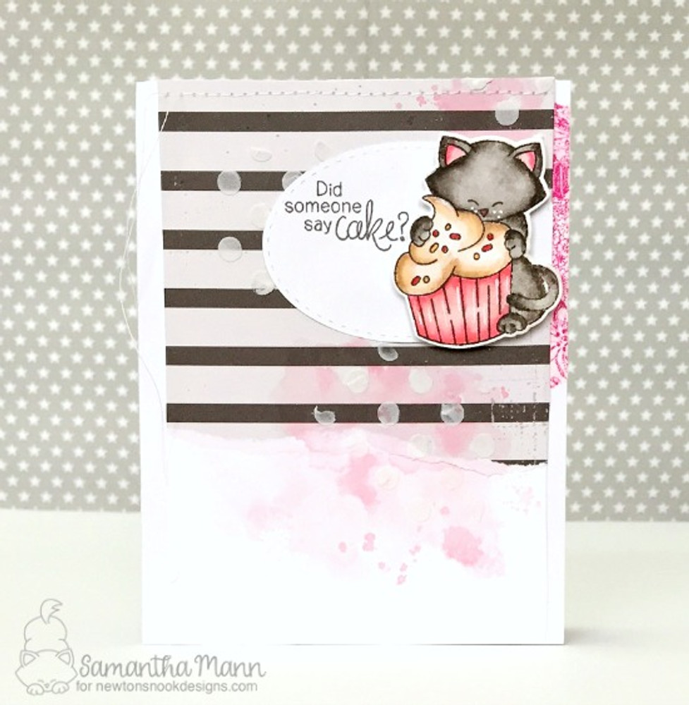 Newton Loves Cake Stamp Set by Newton's Nook Designs