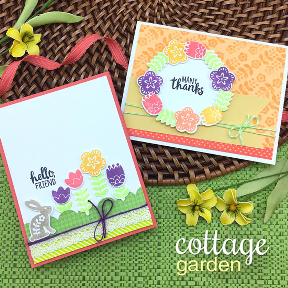 Cottage Garden Stamp Set by Newton's Nook Designs