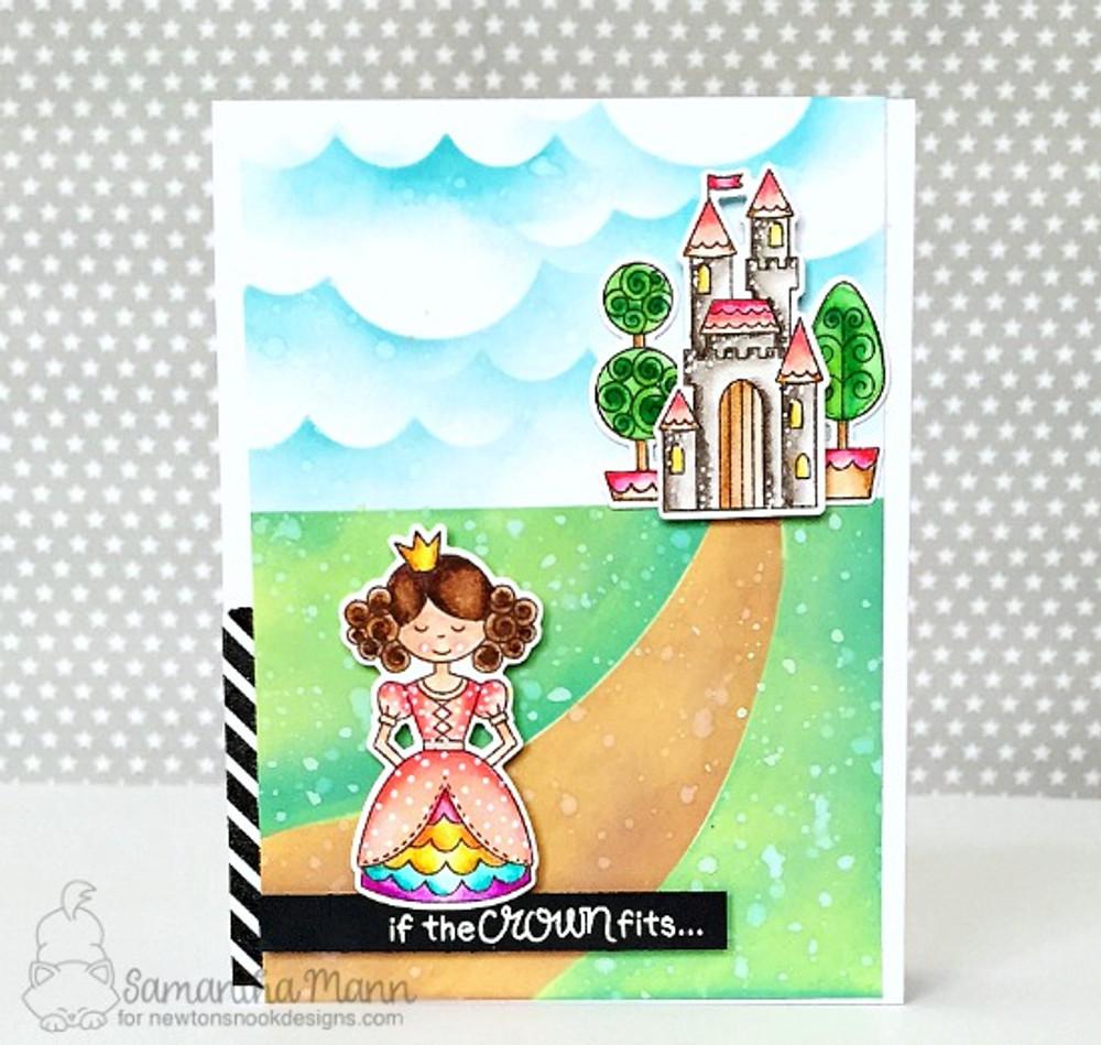 Once Upon a Princess Stamp Set ©2017 Newton's Nook Designs