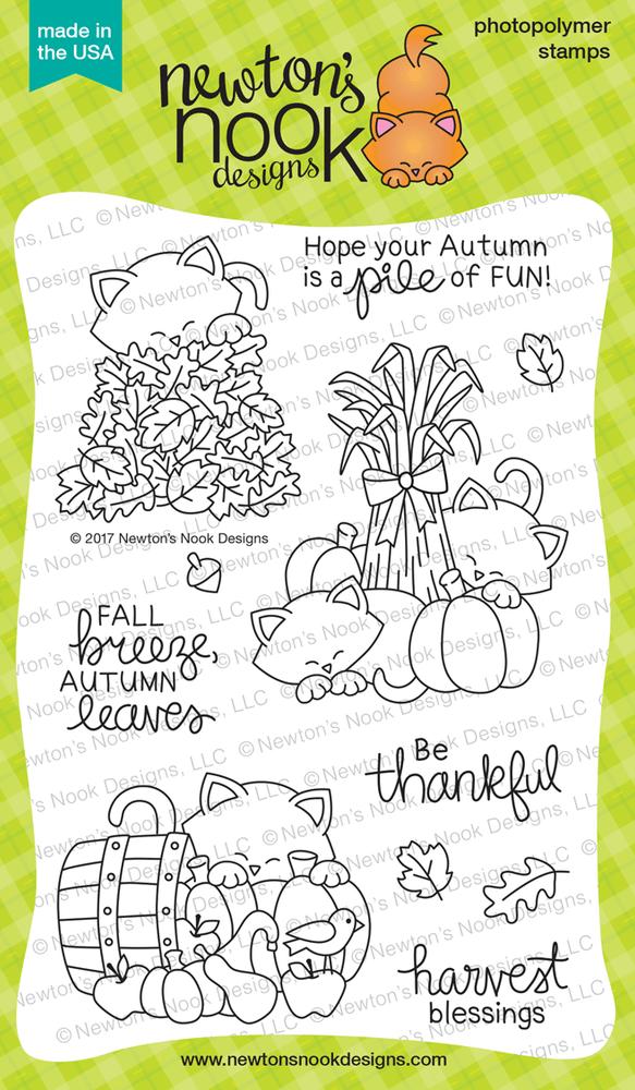 Autumn Newton  Stamp Set ©2017 Newton's Nook Designs