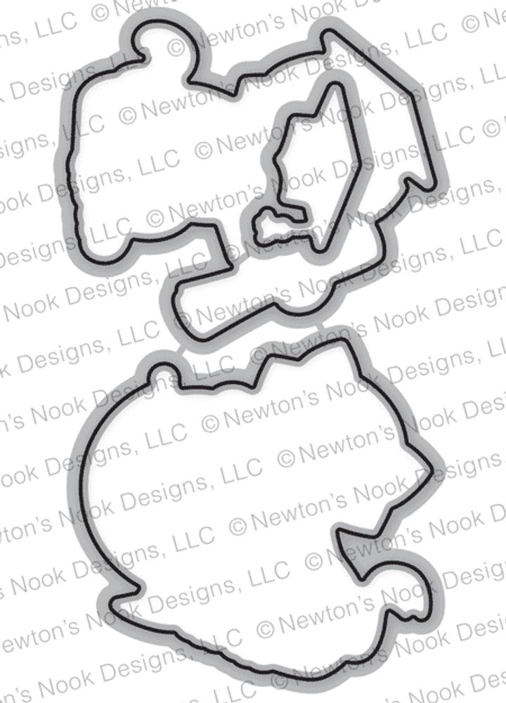Newton's Graduation Die Set ©2018 Newton's Nook Designs