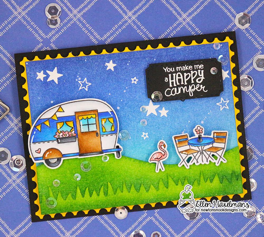 Cozy Campers Stamp Set ©2018 Newton's Nook Designs