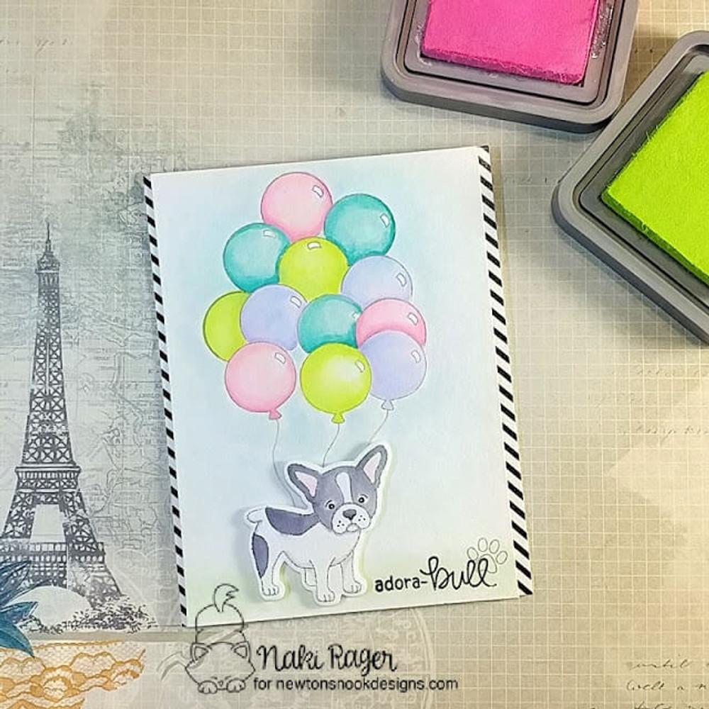 Fabulous Frenchies Stamp Set ©2018 Newton's Nook Designs