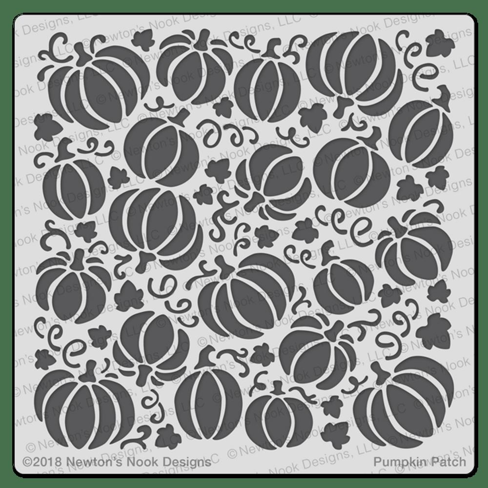 Pumpkin Patch Stencil ©2018 Newton's Nook Designs