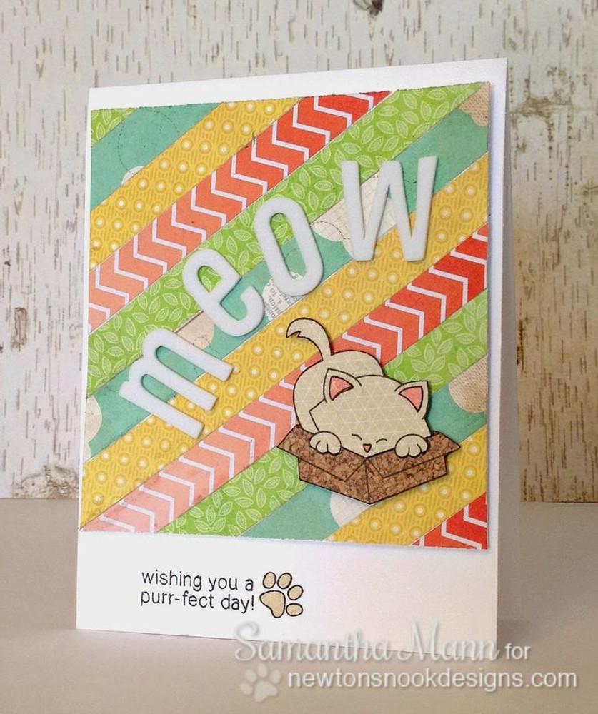 Meow cat card