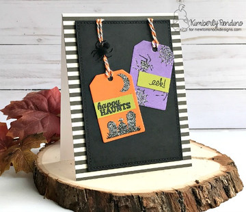 Tags Times Two  Die Set ©2015 Newton's Nook Designs