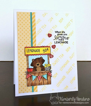 Freshly Squeezed Stamp Set by Newton's Nook Designs