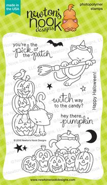 Newton's Boo-tiful Night Stamp Set ©2016 Newton's Nook Designs