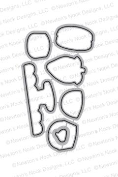 Love & Chocolate Die Set by Newton's Nook Designs