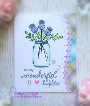 Simply Relative  Stamp Set by Newton's Nook Designs