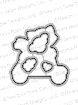 Newton Scoots By Die Set by Newton's Nook Designs