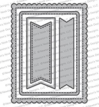 Frames & Flags Die Set ©2017 Newton's Nook Designs