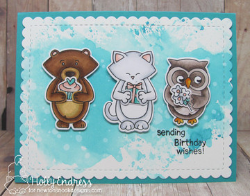 Sending Hugs Stamp Set ©2018 Newton's Nook Designs