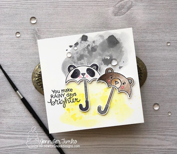 Umbrella Pals Die Set ©2018 Newton's Nook Designs
