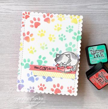 Newton Loves Boxes Stamp Set ©2018 Newton's Nook Designs