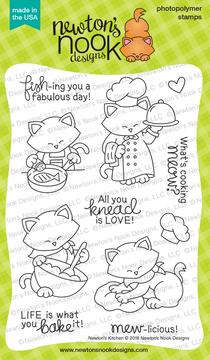 Newton's Kitchen Stamp Set ©2018 Newton's Nook Designs