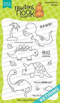 Prehistoric Pals Stamp Set ©2013 Newton's Nook Designs
