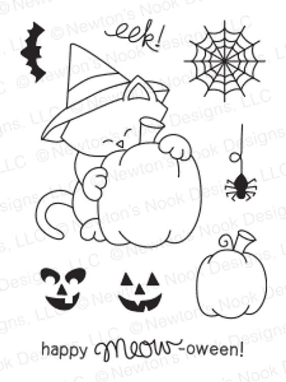 Newton's Perfect Pumpkin Stamp Set ©2014 Newton's Nook Designs