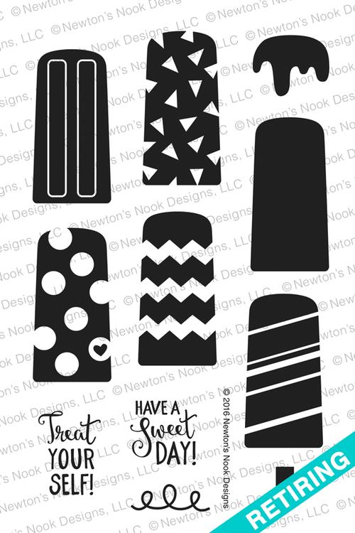 Party Pops Stamp Set ©2016 Newton's Nook Designs