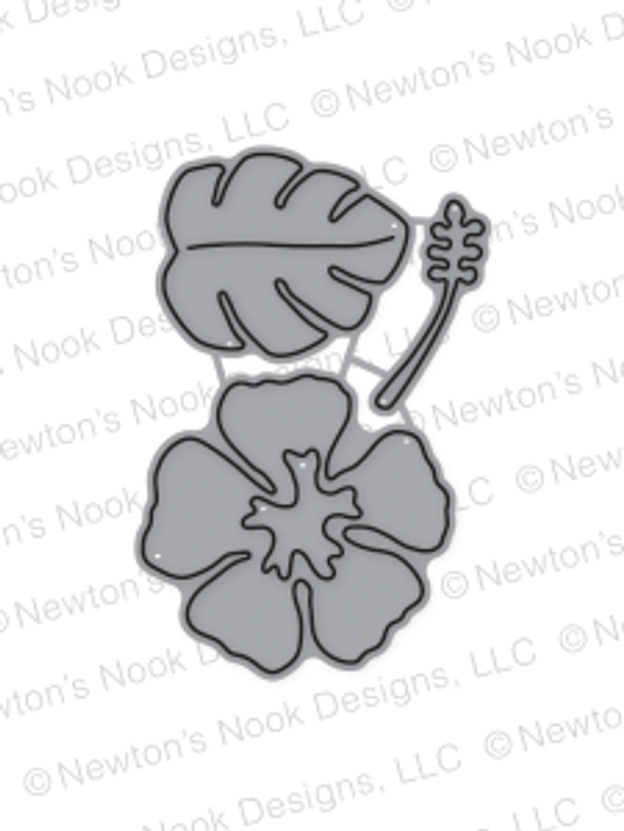 Hibiscus Die Set by Newton's Nook Designs