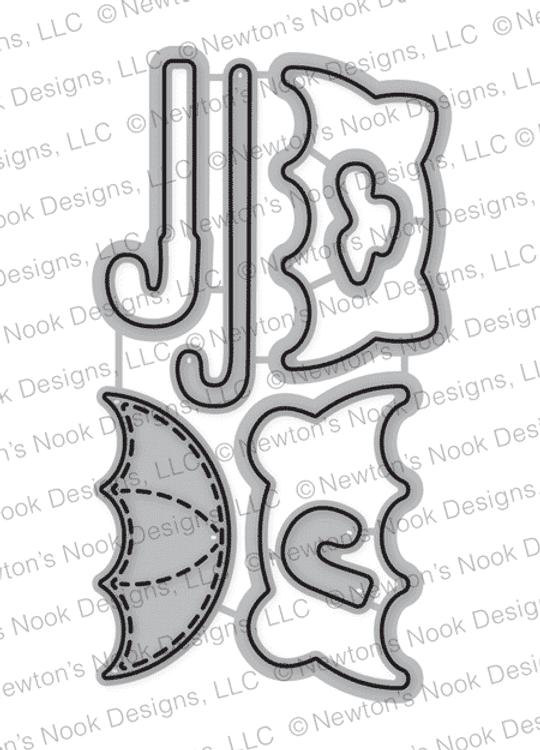Umbrella Pals Die Set ©2018 Newton's Nook Designs
