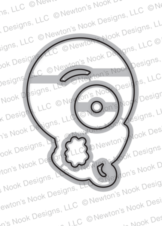 Newton's Donut Die Set ©2018 Newton's Nook Designs