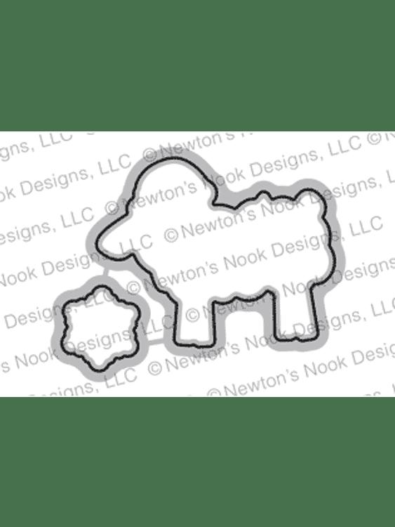 Fleece Navidad Die Set ©2018 Newton's Nook Designs