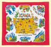Iowa Map Towel