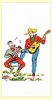 Singing Cowboys Towel
