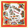 Idaho Map Flour Sack Towel