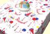 Happy Birthday Tablecloth