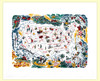 Vacationland  Map Tablecloth