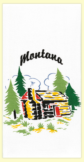 Montana Cabin Towel