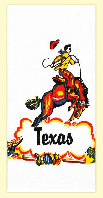 Texas Cowboy Towel