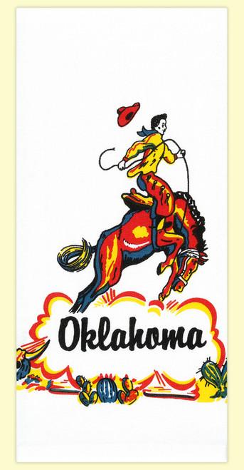Oklahoma Cowboy Towel