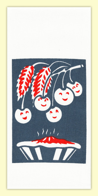 Cherry Pie Towel