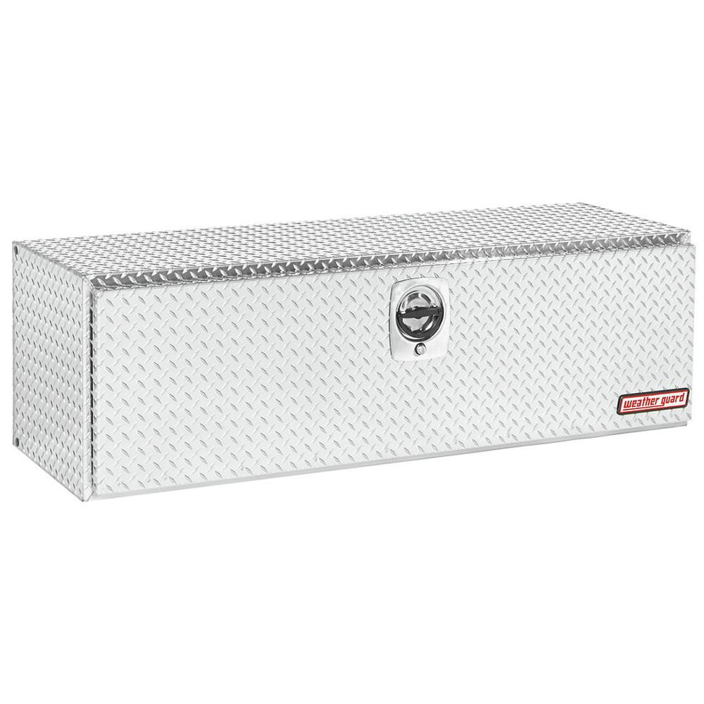 WeatherGuard Model 660-X-02 Underbed Box, Aluminum, Compact, 11.2 cu ft