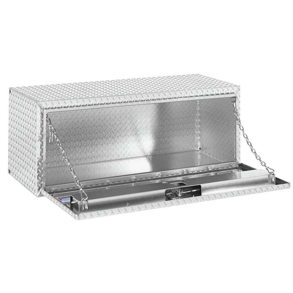 WeatherGuard Model 648-0-02 Underbed Box, Aluminum, Compact, 8.6 cu ft