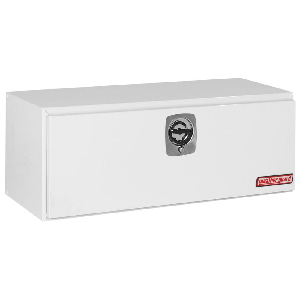 WeatherGuard Model 548-X-02 Underbed Box, Steel, 9.1 cu ft