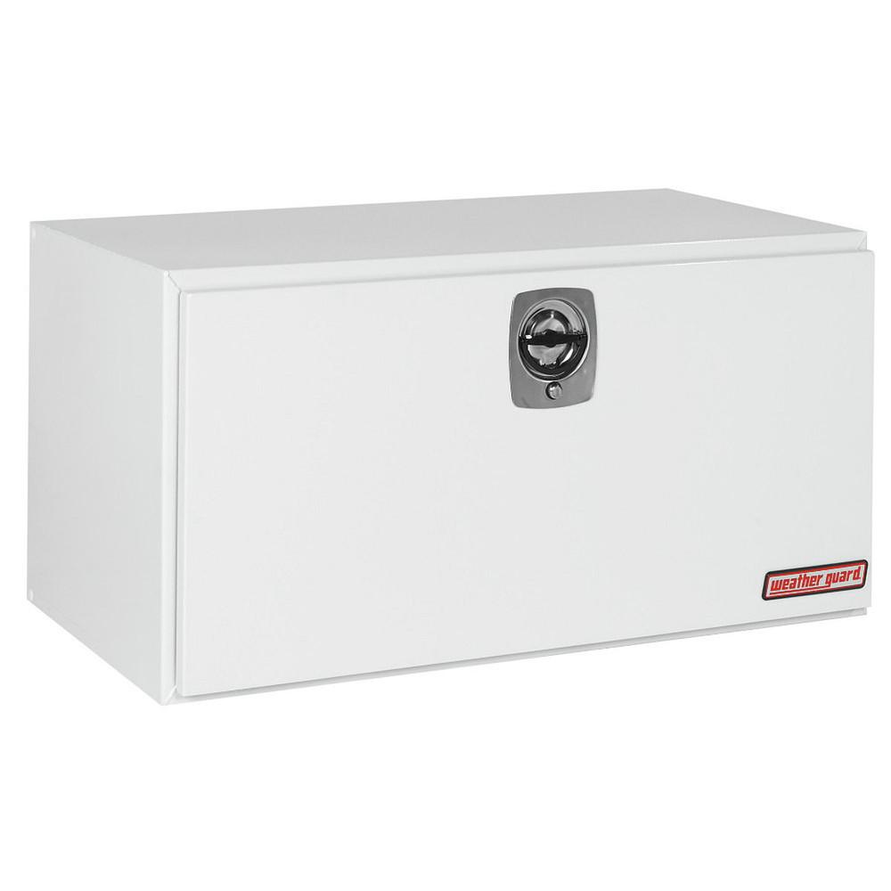 WeatherGuard Model 550-X-02 Underbed Box, Steel, Jumbo, 16.2 cu ft