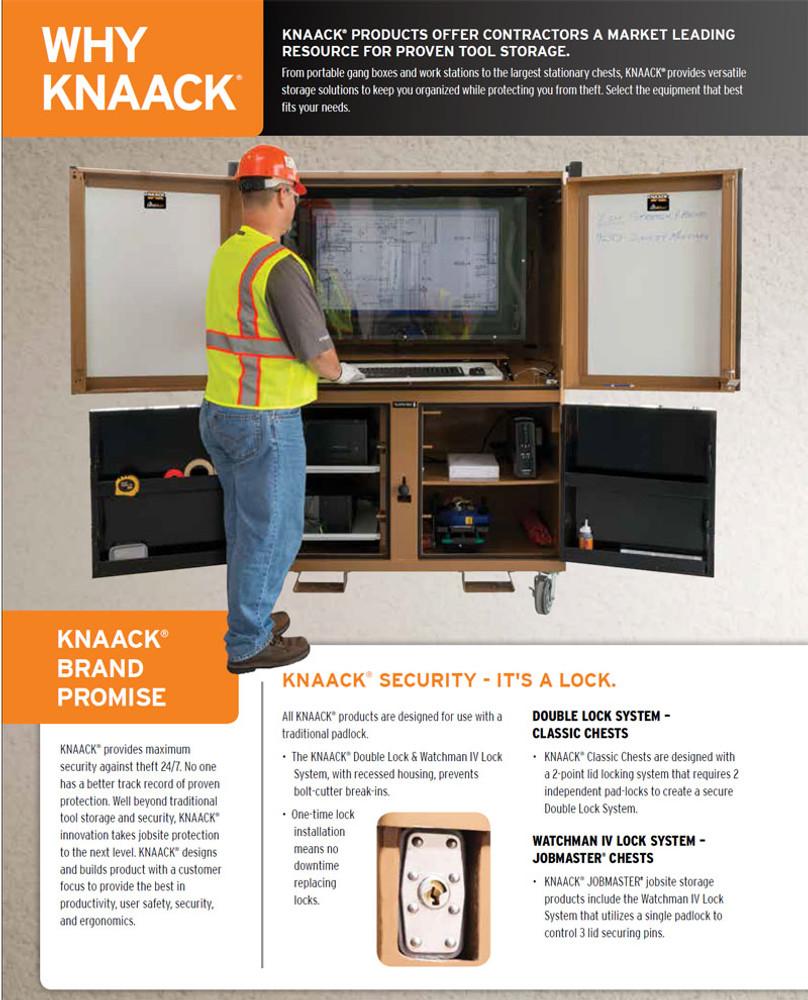 Knaack Model 119 01 Field Station 60 Quot X 42 Quot X 82