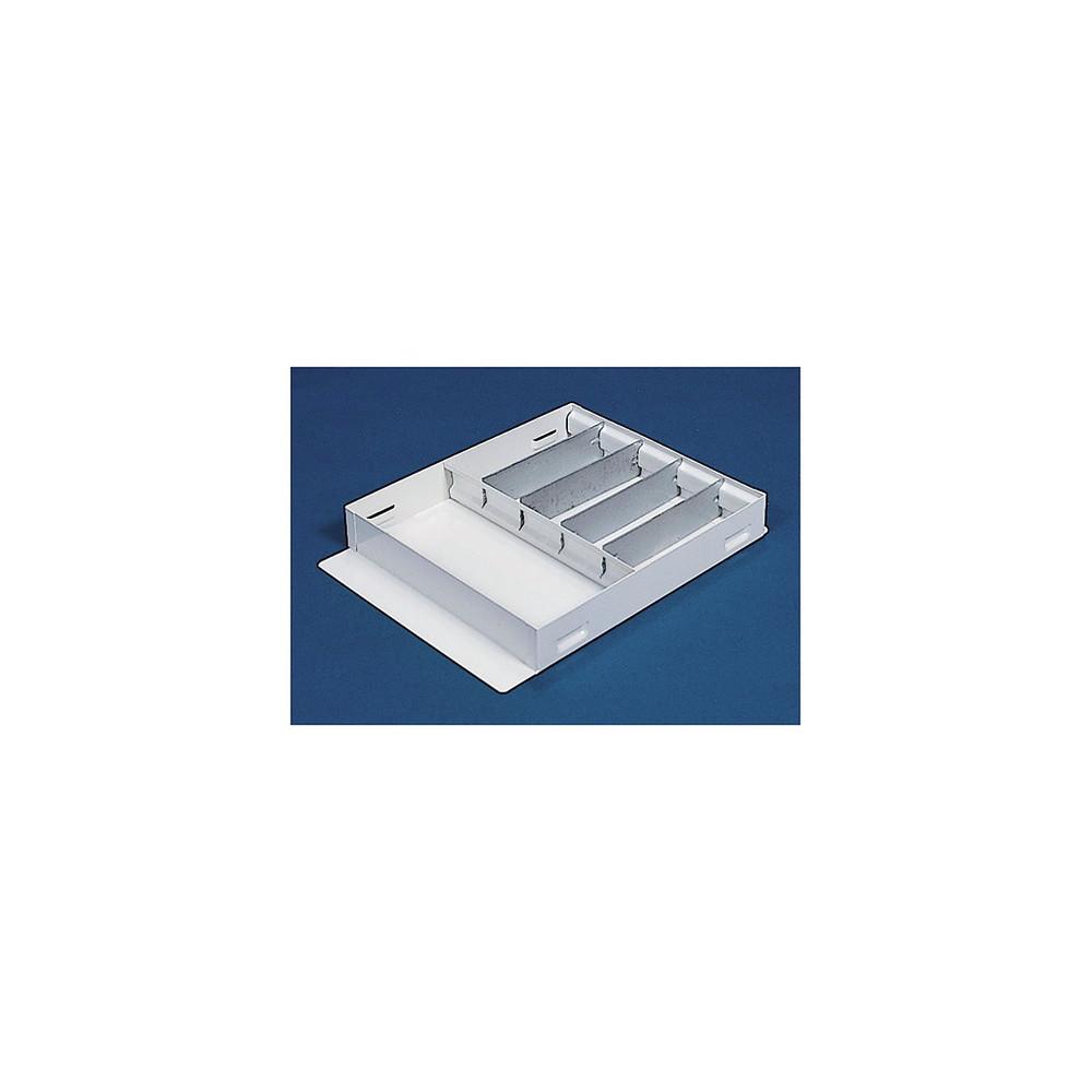 WeatherGuard Model 613-3 Accessory Divider Tray, Steel, 19-1/4 in x 14-5/8 in x 3 in