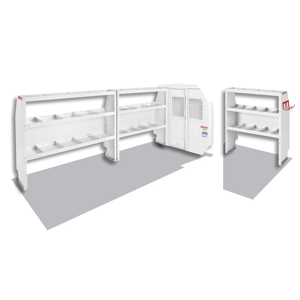 WeatherGuard Model 600-8110L Commercial Shelving Van Package, Full-Size, Ford Transit, 148 WB