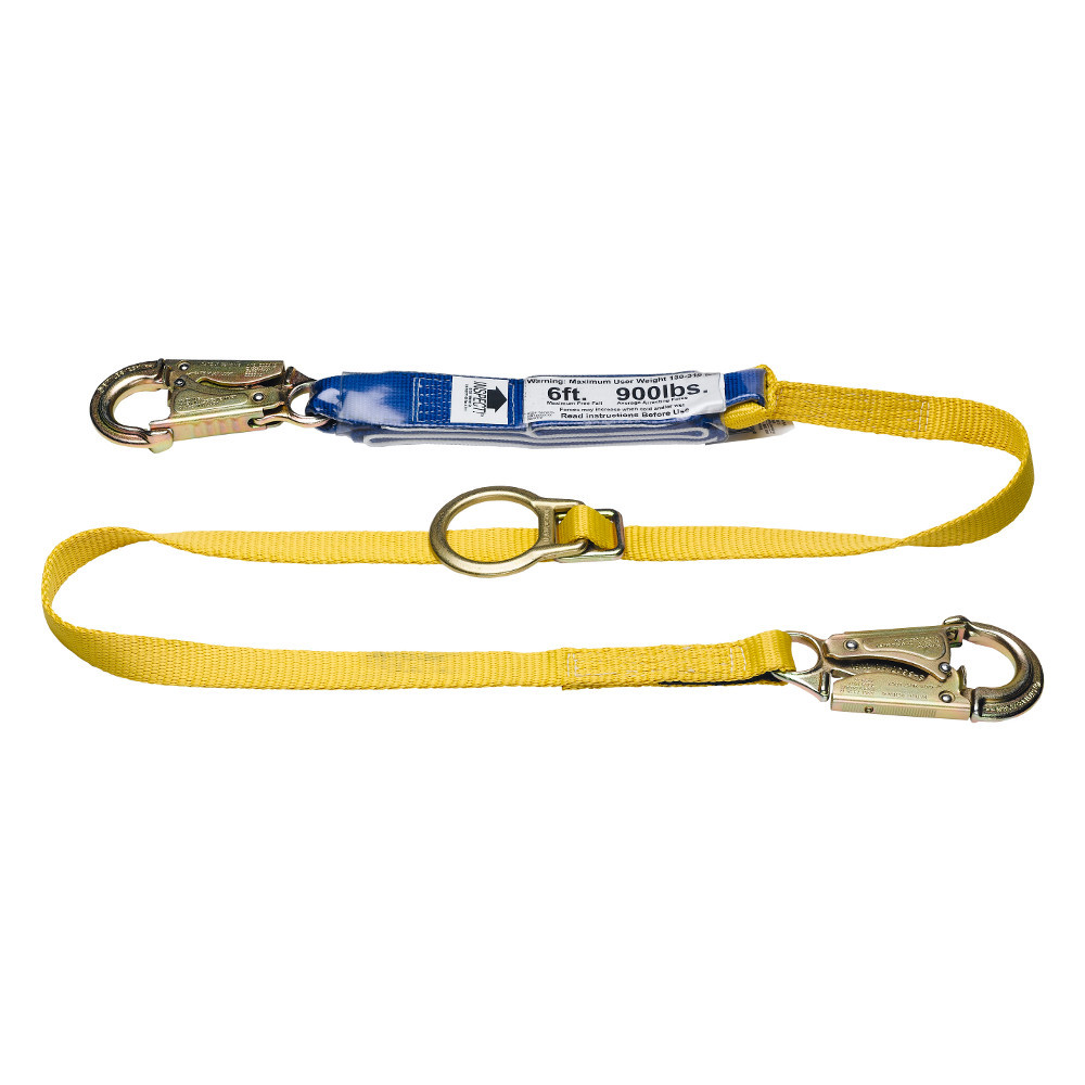 Werner Fall Protection DeCoil Tie-back Lanyards